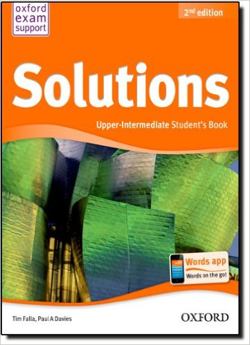Bìa sách Solutions (2 Ed.) Upper-Inter: Student Book - Paperback