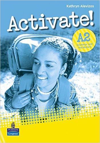 Bìa sách Activate! A2: Grammar  Vocabulary - Paperback