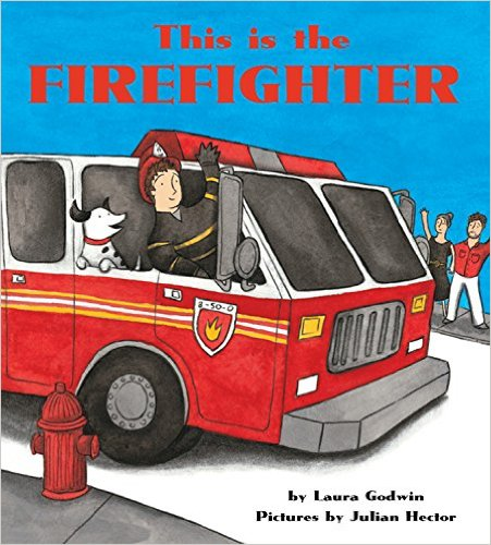 Bìa sách This Is The Firefighter [Board Book]