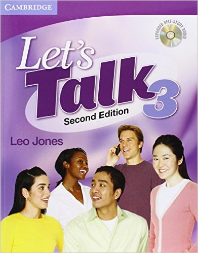 Bìa sách Let Talk (2 Ed.) 3: Student Book Self-Study Audio CD - Paperback