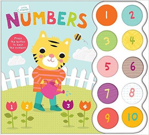 Bìa sách Little Friends Sound Book: Numbers