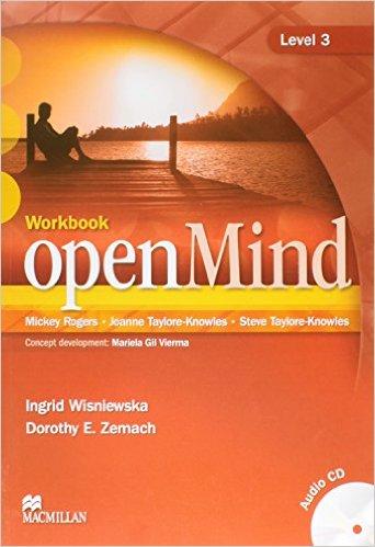 Bìa sách OpenMind 3: Workbook With CD - Paperback