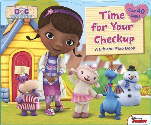 Bìa sách Doc McStuffins Time For Your Checkup!