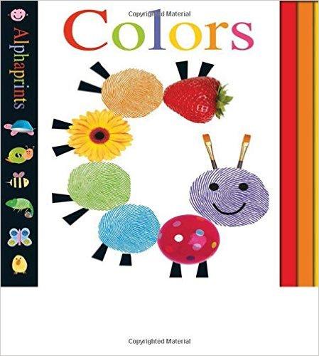 Bìa sách Alphaprints: Colors