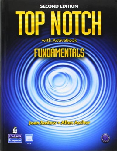 Bìa sách Top Notch (2 Ed.) Fundamentals: Student Book With ActiveBook CD-ROM - Paperback