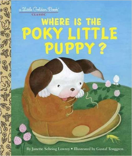 Bìa sách Where Is The Poky Little Puppy?