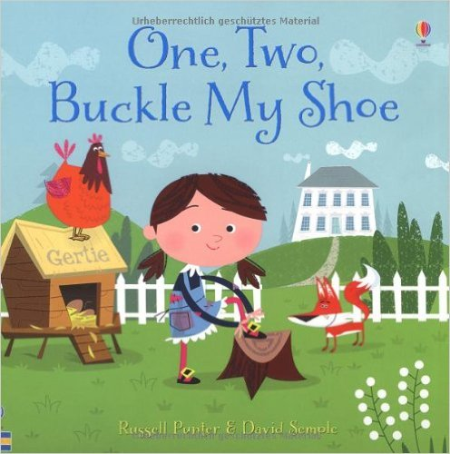 Bìa sách One, Two, Buckle My Shoe