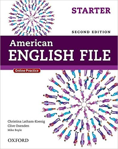Bìa sách American English File (2 Ed.) Starter: Student Book With Oxford Online Skills Program - Paperback