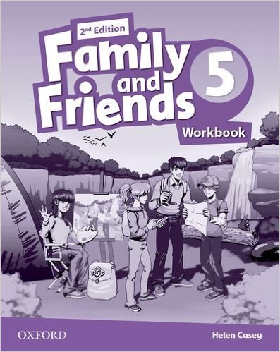 Bìa sách Family  Friends (2 Ed.) 5 Workbook - Paperback