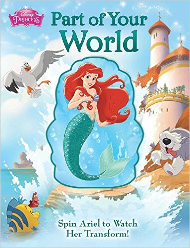 Bìa sách Disney Princess: Part Of Your World