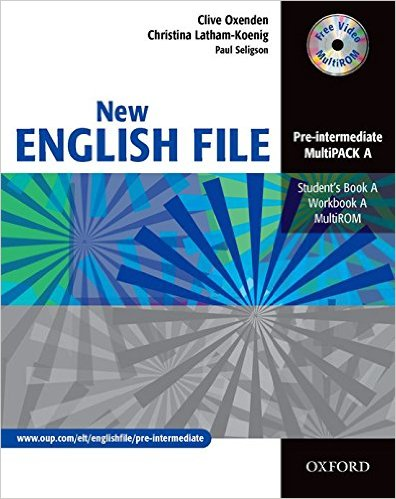 Bìa sách New English File Pre-Inter: MultiPACK A - Paperback