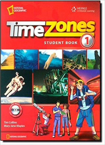 Bìa sách Time Zones 1: Student Book With MultiROM - Paperback