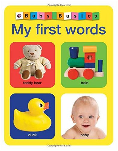Bìa sách Baby Basics: My First Words