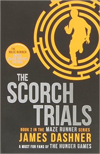 Bìa sách The Scorch Trials: 2/3 (Maze Runner Series) - Paperback