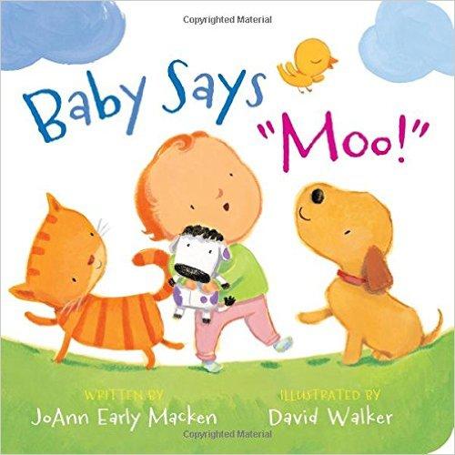 Bìa sách Baby Says