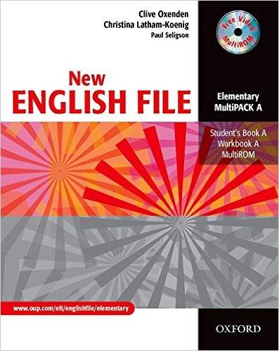 Bìa sách New English File Ele: MultiPACK A - Paperback