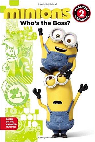 Bìa sách Minions: Whos The Boss?