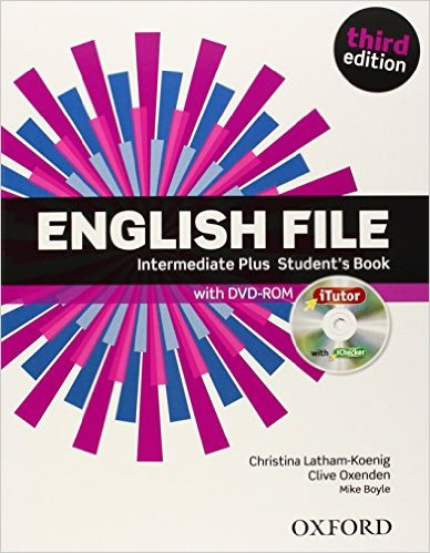Bìa sách English File (3 Ed.) Inter Plus: Student Book With ITutor Pack - Paperback