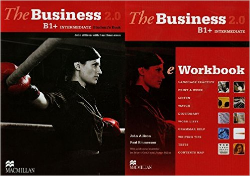 Bìa sách The Business 2.0 Inter B1+: Student Book With eWorkbook - Hardcover