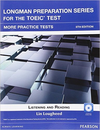 Bìa sách Longman Preparation TOEIC ( 5 Ed.): More Practice With Audio With Key - Paperback