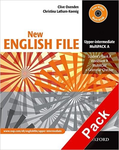 Bìa sách New English File Upper-Inter: MultiPACK A - Paperback
