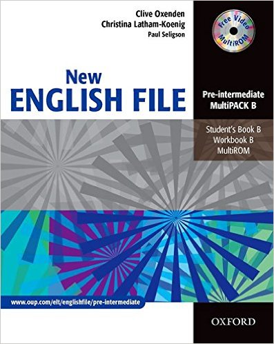 Bìa sách New English File Pre-Inter: MultiPACK B - Paperback