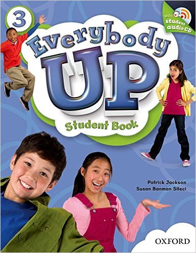 Bìa sách Everybody Up 3: Student Book With Audio CD Pack - Paperbook