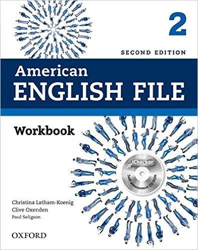 Bìa sách American English File (2 Ed.) 2: Workbook and iChecker - Paperback