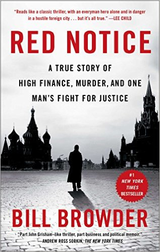 Bìa sách Red Notice: A True Story of High Finance, Murder, And One Man