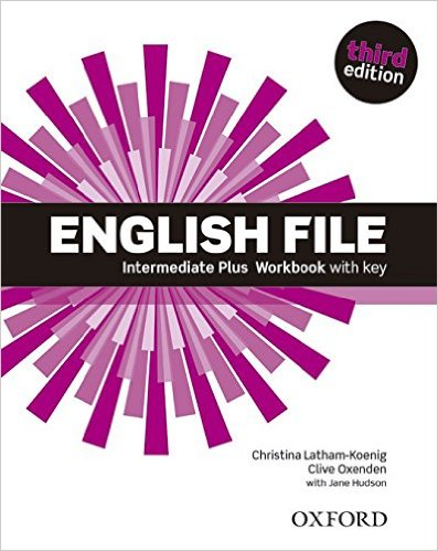 Bìa sách English File (3 Ed.) Inter Plus: Workbook With Key - Paperback