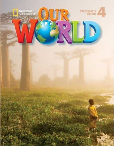 Bìa sách Our World 4: Workbook With Audio CD - Paperback