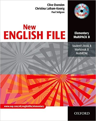 Bìa sách New English File Ele: MultiPACK B - Paperback