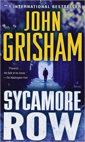 Bìa sách Sycamore Row: A Novel