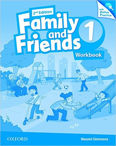 Bìa sách Family  Friends (2 Ed.) 1: Workbook  Online Practice Pack - Paperback