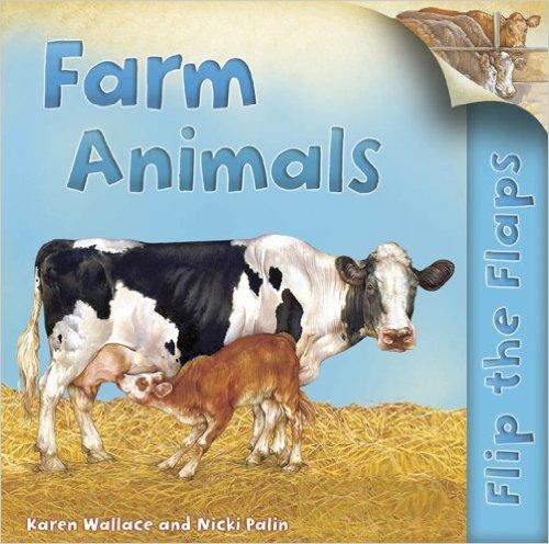 Bìa sách Flip The Flaps: Farm Animals