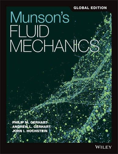 Bìa sách MunsonS Fluid Mechanics Global Edition