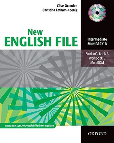 Bìa sách New English File Inter: MultiPACK B - Paperback