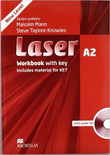Bìa sách Laser (3 Ed.) A2: Workbook With Key With CD - Paperback