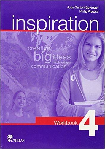 Bìa sách Inspiration 4: Activity Book - Paperback