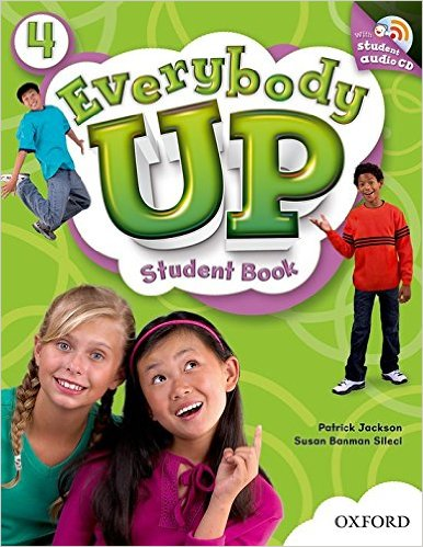 Bìa sách Everybody Up 4: Student Book With Audio CD Pack - Paperback