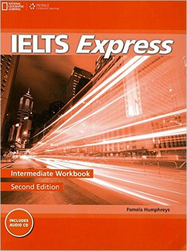 Bìa sách IELTS Express (2 Ed.) Inter: Workbook With Audio - Paperback