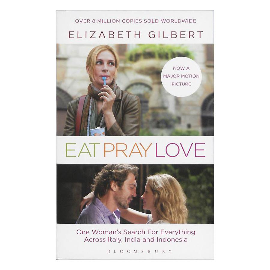 Bìa sách Eat, Pray, Love