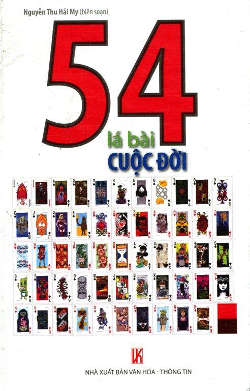 Bìa sách 54 Lá Bài Cuộc Đời