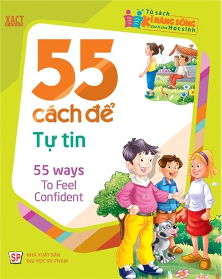 Bìa sách 55 Cách Để Tự Tin