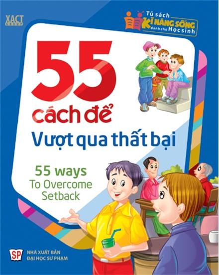 Bìa sách 55 Cách Để Vượt Qua Thất Bại