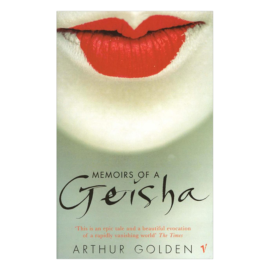 Bìa sách Memoirs Of A Geisha