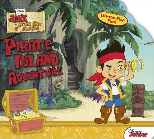 Bìa sách Jake And The Never Land Pirates: Pirate Island Adventure (Sneak-A-Peek)