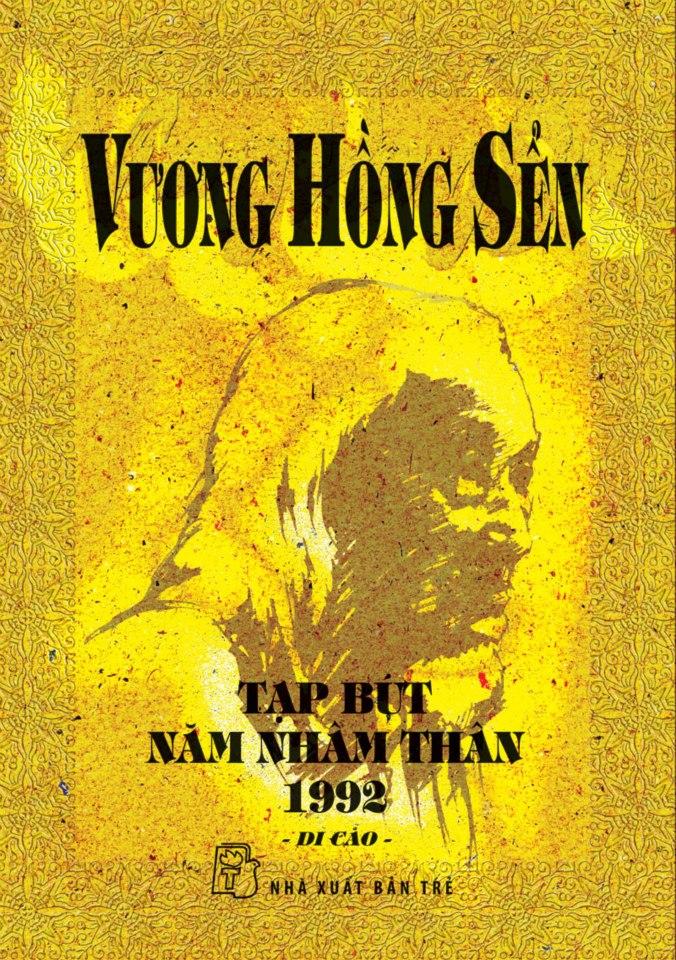 Bìa sách Vương Hồng Sển - Tạp Bút Năm Nhâm Thân 1992 (Di Cảo)