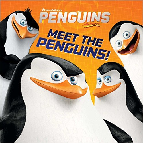 Bìa sách Penguins Of Madagascar: Meet The Penguins