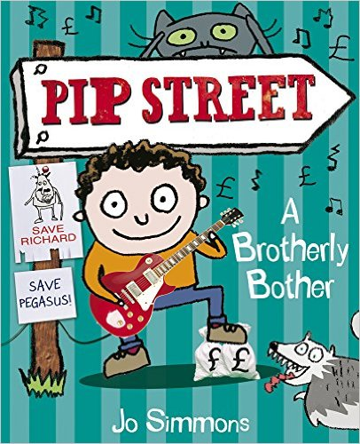 Bìa sách A Brotherly Bother (Pip Street) - Paperback